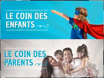 Le coin des enfants et le coin des parents, Récréatiloups 56