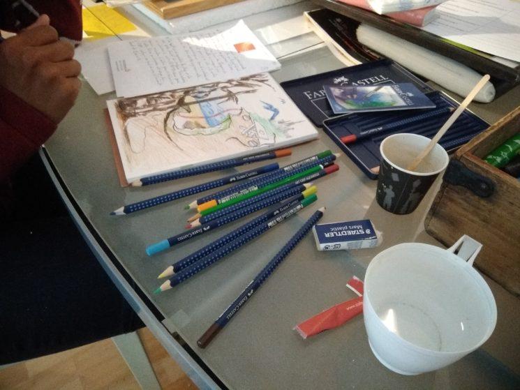 Atelier conte et dessin