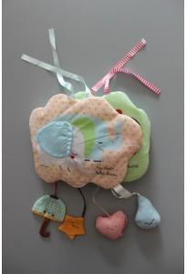 Livre bébé en tissu