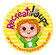 stickers recreatiloups-PRO + teste approuve