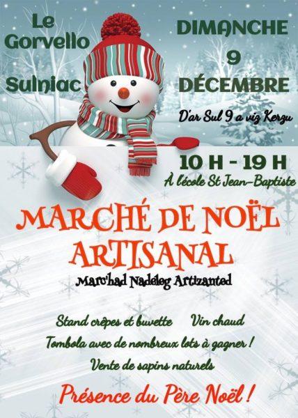 Marché de Noël - Le Gorvello-Sulniac
