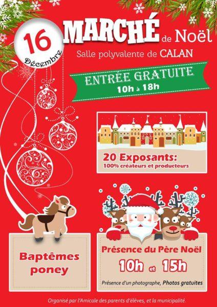 Marché de Noël à Calan