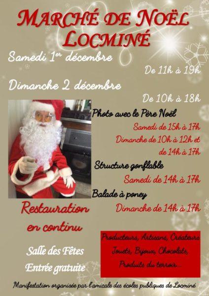 Marché de Noël à Locminé