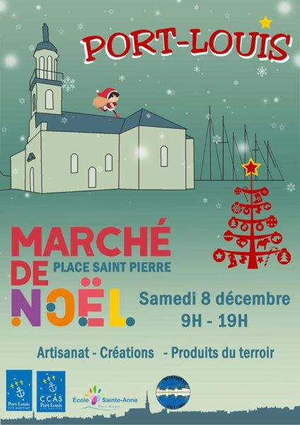 Marché de Noël à Port-Louis