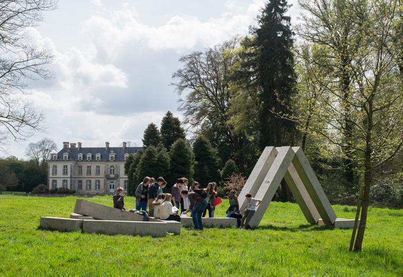 Visite du parc sp ciale familles kergu hennec r cr atiloups for Parc a visiter