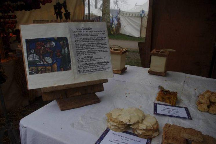 Gourmandises médiévales au Marché de Noël