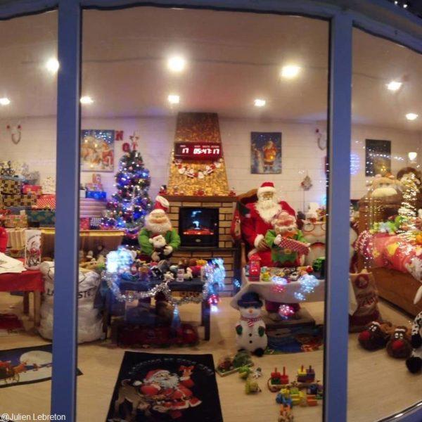 Les illuminations de Noël à Guégon
