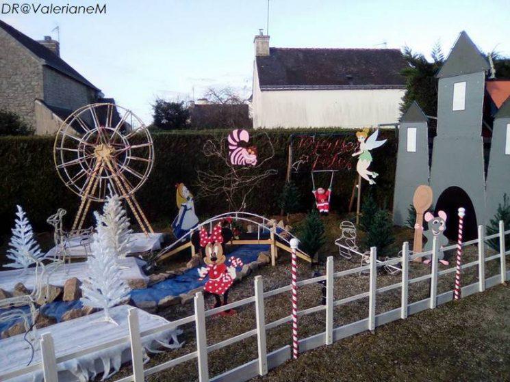 Langonnet, illuminations de Noël (2018)
