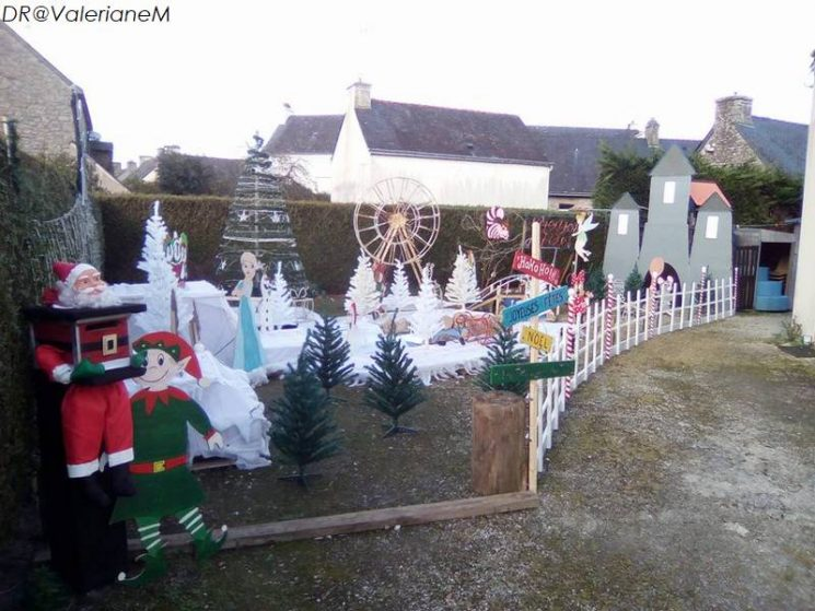 Illuminations de Noël à Langonnet (2018)