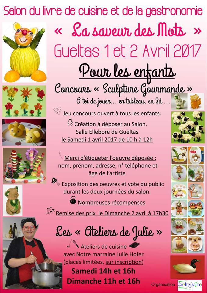 Salon du livre de cuisine et de la gastronomie r cr atiloups for Salon de la gastronomie paris 2017