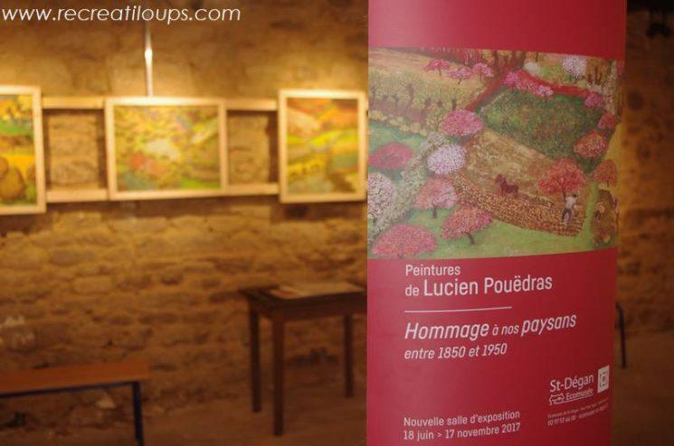 Expo des toiles de Lucien Pouëdras