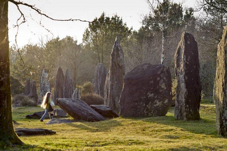 Les Menhirs de Monteneuf dans le Morbihan