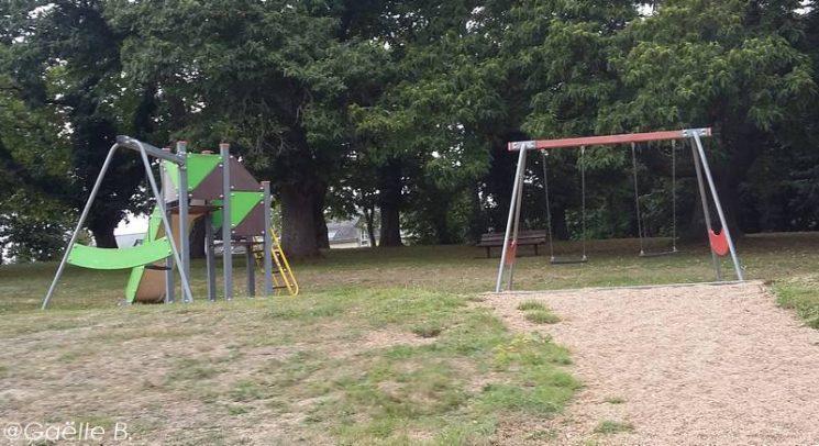 Aire de jeux pour enfants à Plouay
