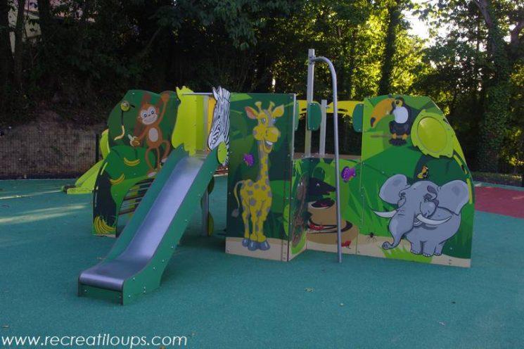 Aire de jeux pour enfants dans le Morbihan