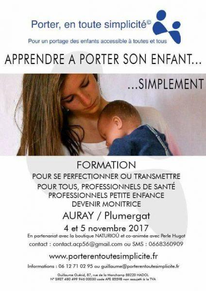 Formation portage pour les parents et monitrices Récréatiloups e067dd64c37