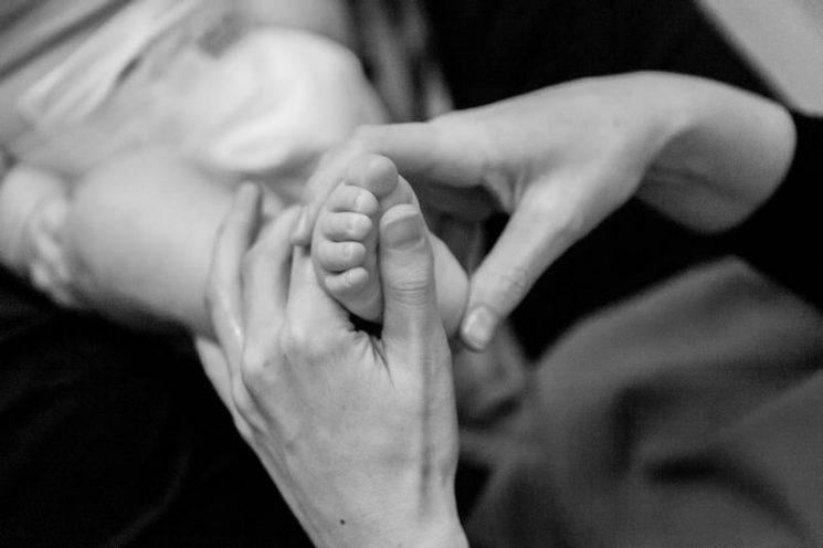 Massage bébé avec Anne-Claire Launay