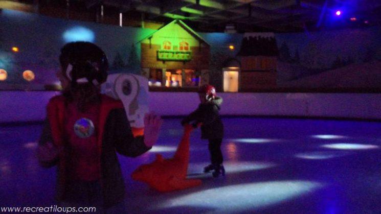 Un espace de patinage pour les enfants