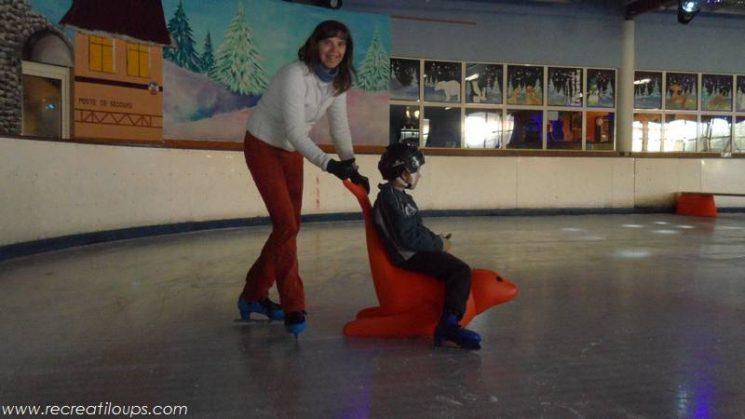 Jardin de glace à la patinoire de Vannes
