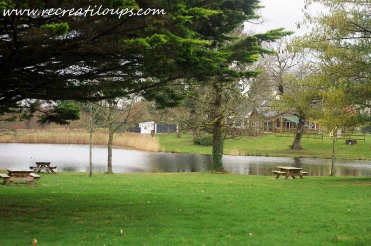 L'étang aux Biches à Trédion