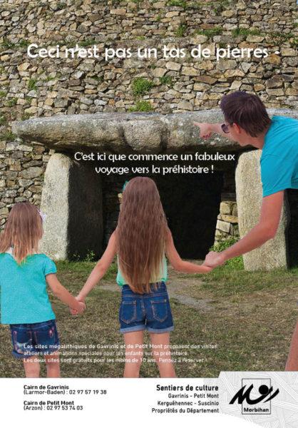 Les sites mégalithiques du Département
