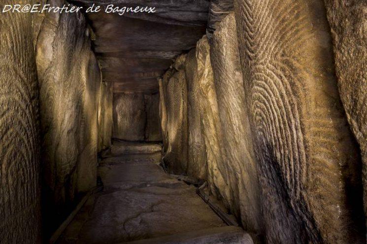 Cairn de Gavrinis, intérieur
