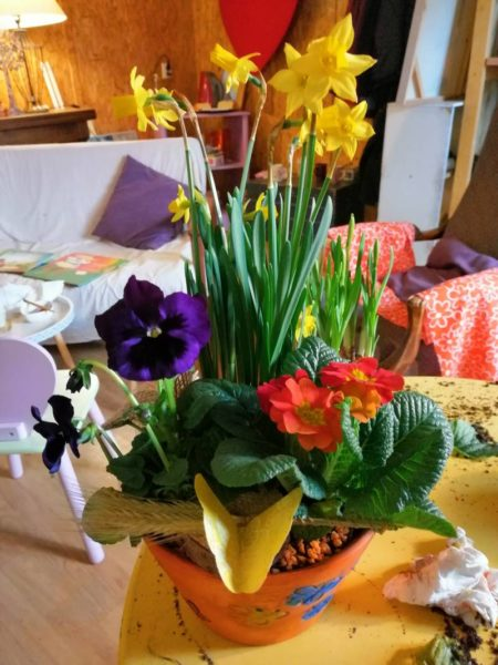 Atelier créatif avec L'Escapade Fleurie