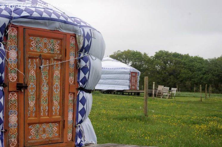 Dihan Evasion à Ploemel, yourtes mongoles
