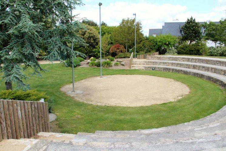 Théâtrede verdure, Jardin de Césarine