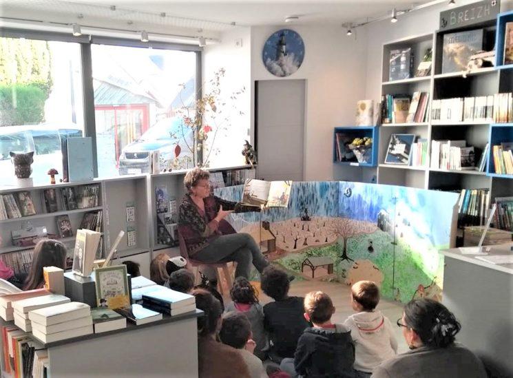 Goûter-lecture, Le P'tit Monde de Zabelle