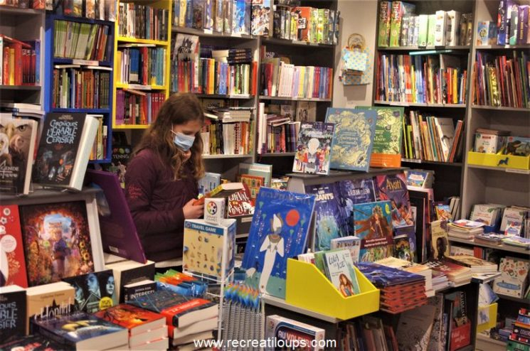 Librairie jeunesse à Carnac