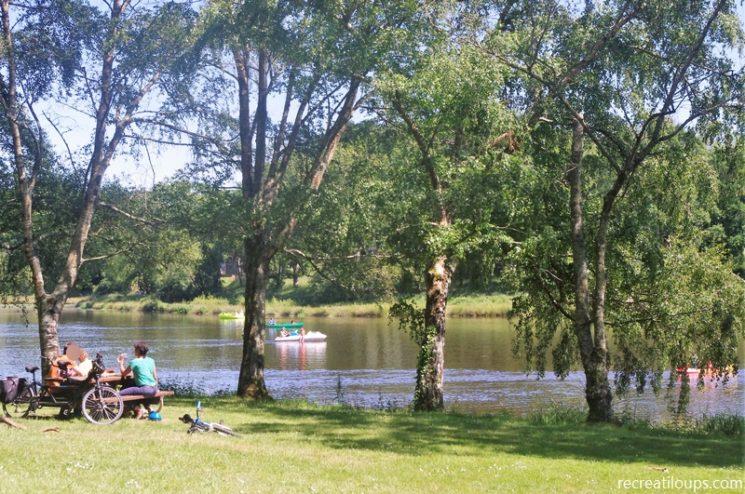 Base de loisirs à Rochefort-en-Terre