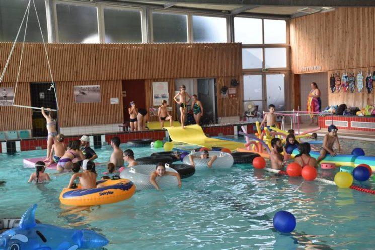 Loisirs, apprentissages, anniversaires à la piscine