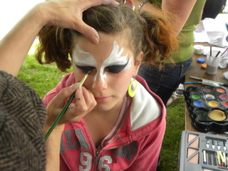 Prestation maquillage artistique