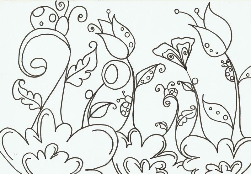 Le Jardin Coloriage Gratuit A Imprimer Recreatiloups