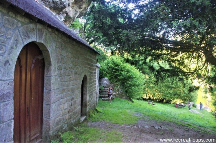 Chapelle St Gildas, fin de la randonnée