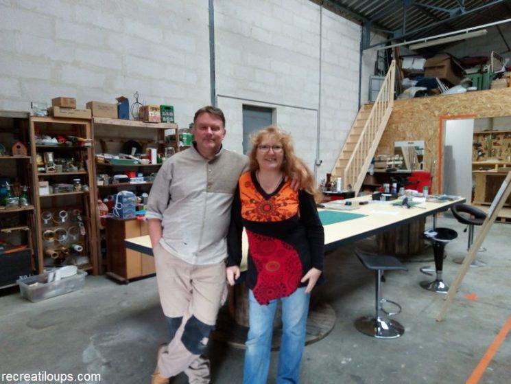 L'Atelier Passion, Paul et Christelle