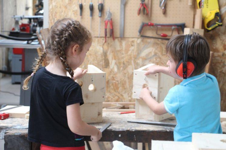 Ateliers enfants à Caudan