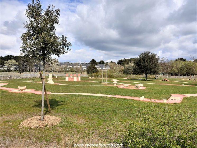 Parc du Fogeo, mini-golf